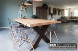 De mooiste tafels maak je van steigerhout